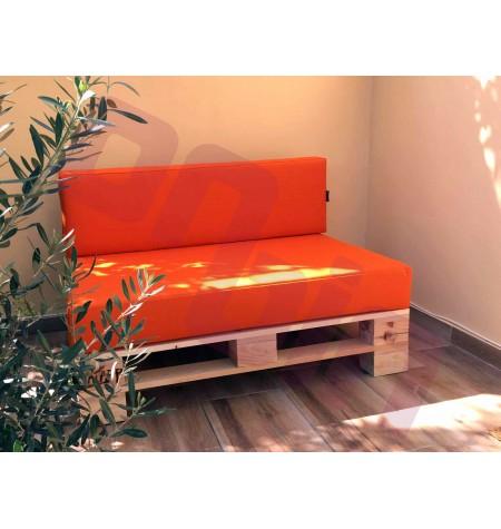 UV álló kültéri Kétszemélyes raklap fotel