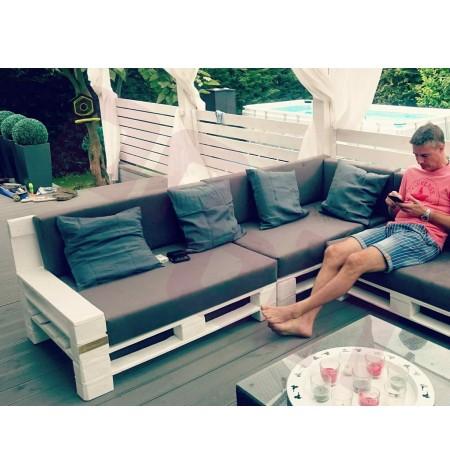 Raklap bútor szivacs kültéri huzatban 120x80x10cm