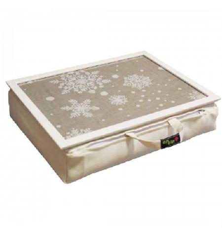 Laptoptartó Párna Karácsonyi