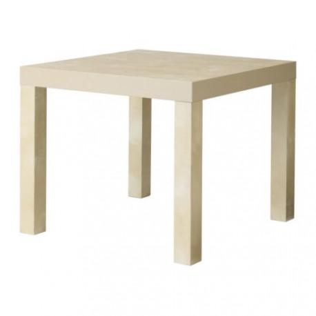 Lack kis asztal bézs