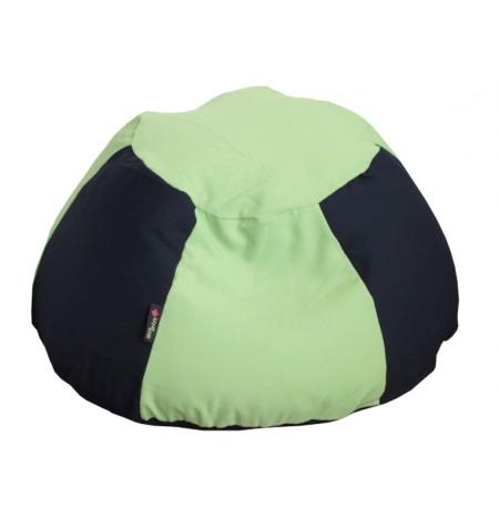 Süni Yari Sötétkék-Zöld gyerek babzsákfotel