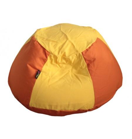 Süni momen Narancssárga-Sárga gyerek babzsákfotel