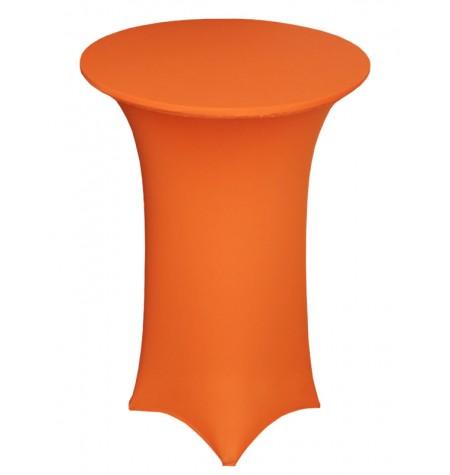 Könyöklő, narancssárga huzattal és narancssárga sapkával