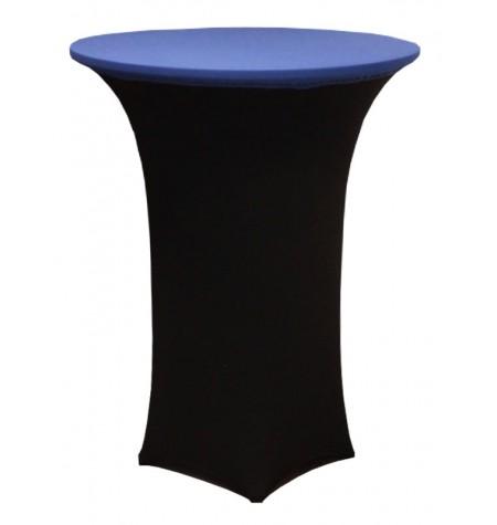 Könyöklő, fekete huzattal és kék sapkával
