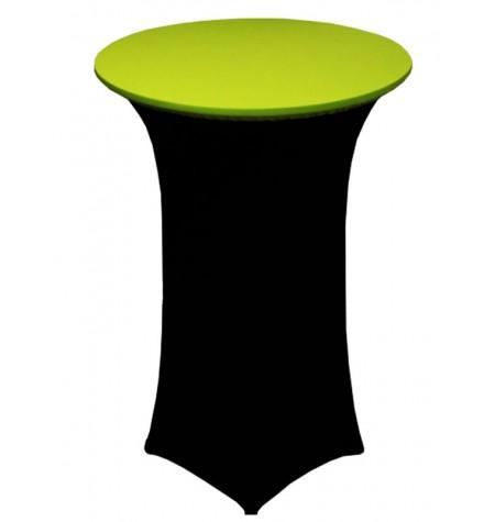Könyöklő, fekete huzattal és zöld sapkával