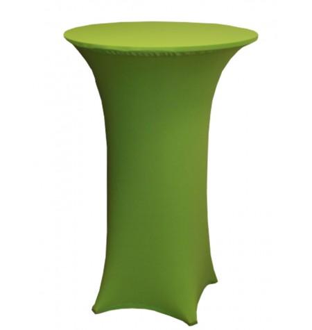 Könyöklő, zöld huzattal és zöld sapkával