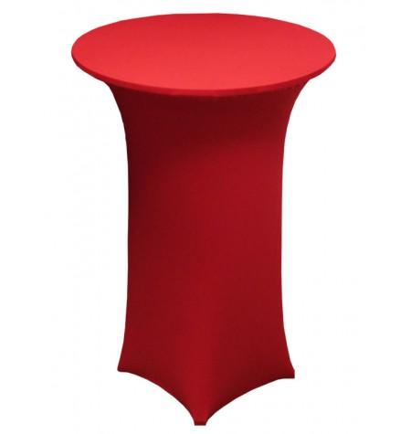 Könyöklő, piros huzattal és piros sapkával