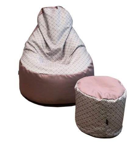 Nagi Plussz EVO Puffal Rózsaszín